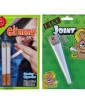 Fop pakket nep sigaret joint