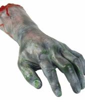 Fop zombie hand afgehakt