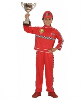 Formule 1 coureur kostuum voor kinderen
