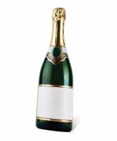 Foto bord van een champagne fles