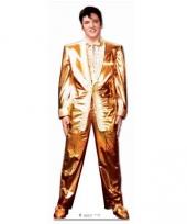 Foto bord van elvis presley goud
