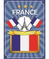 France thema deur posters