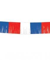 Franje linger rood wit blauw 10 m