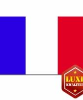 Frankrijk decoratie vlag 100 x 150