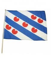 Friesche zwaaivlaggen lichtblauw