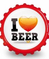 Frisdrank opener i love beer