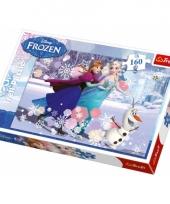 Frozen legpuzzels 160 stukjes