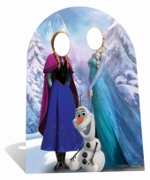Frozen photoprop bord