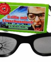 Fun bril met kapot glas