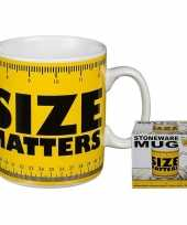Fun koffiemok size matters 350 ml