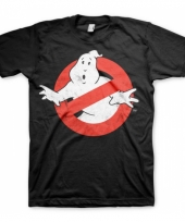 Fun shirt ghostbusters logo