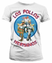 Fun shirt los pollos hermanos wit