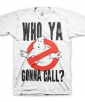 Fun shirt who ya gonna call