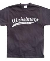 Fun tekst-shirt alzheimer