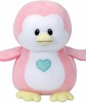 Geboorte meisje knuffel ty baby pinguin penny 24 cm