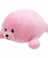 Geboorte meisje knuffel ty baby zeehond doodles 24 cm