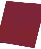 Gekleurd hobby papieren bordeaux a4