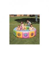 Gekleurd zwembad rond 196 cm