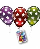 Gekleurde ballonnen met sterretjes