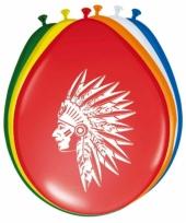 Gekleurde indianen ballonnen