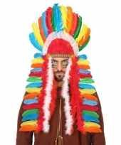 Gekleurde indianen tooi voor heren