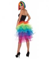 Gekleurde petticoat voor dames