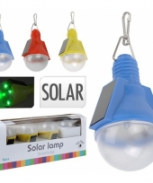 Gekleurde solar hang lampjes peervormig