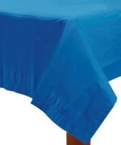 Gekleurde tafellaken blauw