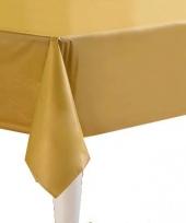 Gekleurde tafellaken goud