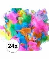 Gekleurde veertjes 14 gram