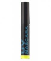 Gele blacklight mascara