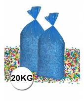 Gerecyclede grootverpakking confetti zak van 20 kilo