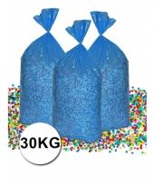 Gerecyclede grootverpakking confetti zak van 30 kilo