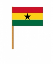 Ghana versiering zwaaivlag