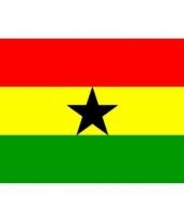 Ghanese vlag mini 60 x 90 cm