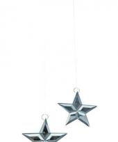 Glazen decoratie sterren