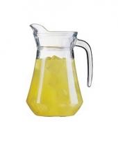 Glazen waterkannen 1 6 lieter