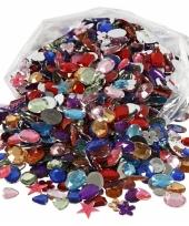 Glinster steentjes assorti 1600 stuks
