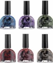 Glitter nagellak in felle kleurtjes
