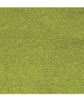 Glitter papier grasgroen vel