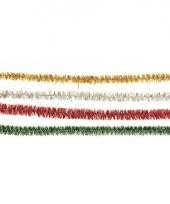Glitter pijpenragers 50 cm 10 st