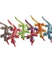 Glitter salamander knuffel 34 cm