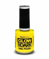 Glow in the dark nagellak neon geel