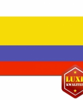 Goede kwaliteit colombiaanse vlag