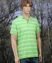Golf polo in het lime