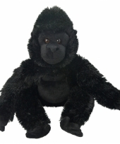 Gorilla apen knuffeltje 33 cm