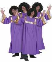 Gospel koor jurken paars