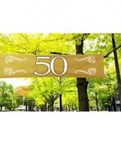 Gouden banner 50