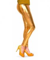 Gouden dames legging
