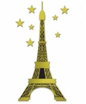 Gouden eiffeltoren met sterren 150 cm
